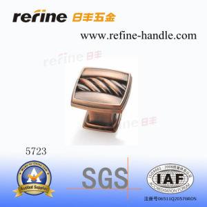 Bouton en alliage de zinc de matériel de meubles (Z-5723)