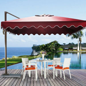 grand parasol ext rieur en aluminium de parapluie de plage de jardin grand parasol ext rieur en. Black Bedroom Furniture Sets. Home Design Ideas