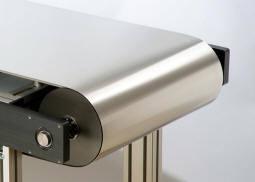 Stainless sin fin Steel Conveyor Belt para Food Processing