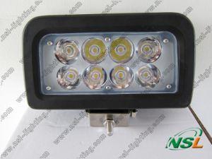 projecteur tous terrains du CREE 4X4 LED de lampe de lumière de travail de 12V 24V 24W LED