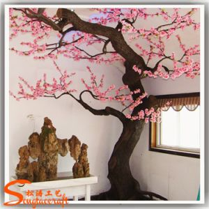 Arbre artificiel rose d coratif ext rieur ou d 39 int rieur for Arbre artificiel pour interieur