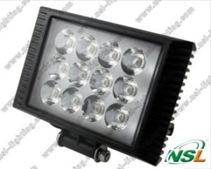 Faisceau LED Flood Light Work, 4x4 12V Retangle LED lampe de travail Tracteur (NSL-3612C-36W)