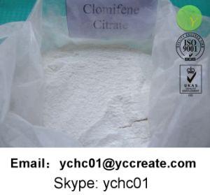 Citrate stéroïde de bonne qualité de Clomifene de poudre
