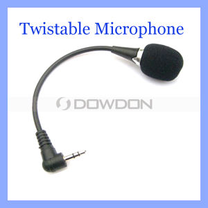 3.5mm Twistable Laptop Wireless Microphone Mic für Notebook PC So-DIMM