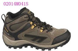 Camurça e Nylon Upper Hiking Boot Shoes