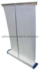 Plastic Desktop Steel Roll acima de Banner Stand (FB-SG-10)