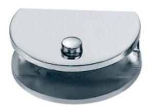 Braçadeira de vidro do suporte do quarto de chuveiro de 180 graus (FS-507)