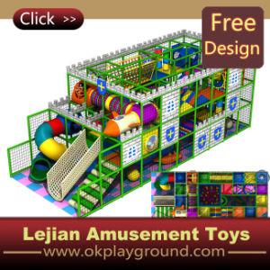 La plupart de cour de jeu d'intérieur d'enfants passionnants de jeux avec du ce approuvé (T1233-3)
