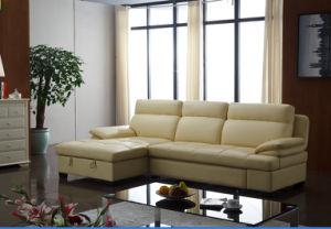 중국 Recliner 소파, 거실 현대 L 모양 소파, 침대 접히는 기능 소파 ...