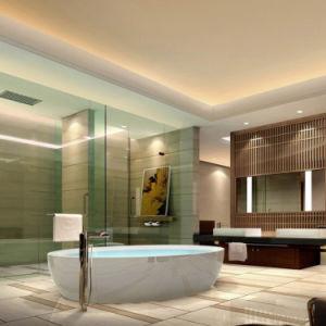 Meubles en bois de chambre à coucher d'hôtel de modèle de mode réglés (EMT-A1101)