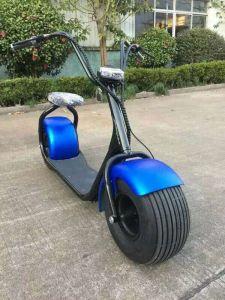 scooter lectrique de citycoco du moteur 1000w sans frottoir avec la grande roue scooter. Black Bedroom Furniture Sets. Home Design Ideas