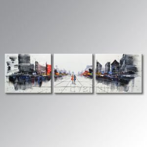 Canvas에 손으로 그리는 Modern Wall Art Abstract Oil Painting