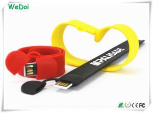 Alta Speed Stick pulsera USB con logotipo personalizado (WY-S16)