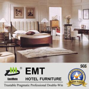 Meubles en bois de chambre à coucher d'hôtel/meubles de chambre à coucher réglés (EMT-A0901)