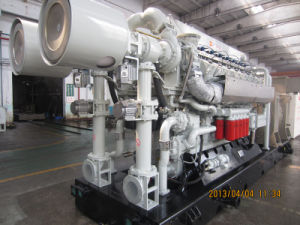 комплект генератора 300kw с двигателем внутреннего сгорания