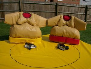 gomma piuma padded sumo wrestling suits da vendere. Black Bedroom Furniture Sets. Home Design Ideas