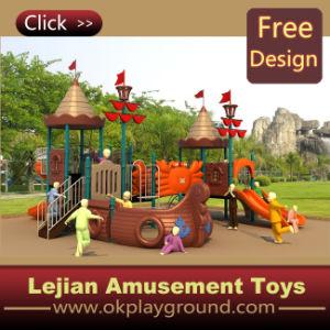 CE Corsair série Intéressant conception plastique en plein air Aire de jeux pour l'école (12043A)