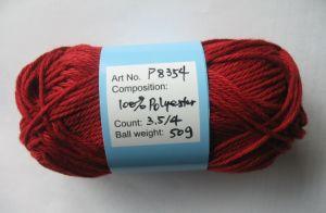 Rosca 100% transversal do ponto do algodão