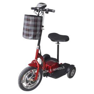 scooter mobilit lectrique trois roues sans brosse 250w 350w 500w scooter mobilit. Black Bedroom Furniture Sets. Home Design Ideas