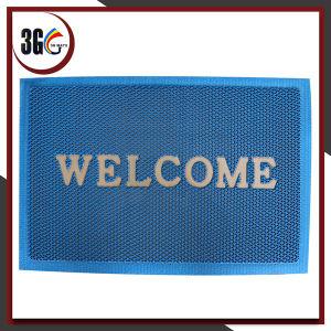Piscine utile d'anti de glissade couvre-tapis creux en forme de s de PVC