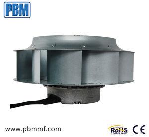 250 milímetros Ec ventilador centrífugo com baixo consumo de energia