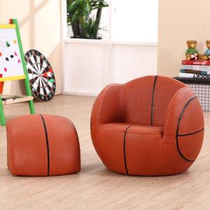 muebles de la sala de estar de la sala de juegos de los nios del baloncesto con el otomano sxbb