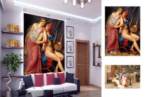 Rivestimento murale della carta da parati/Buy decorativi moderni Digital Wallcovering per la vostra stampante di getto di inchiostro di Largo-Formato