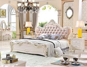 ensemble de chambre coucher de style fran ais de luxe de. Black Bedroom Furniture Sets. Home Design Ideas