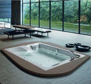 De eenvoudige Lucht van de Hoek spuit Draaikolk Massage Bathtub Bubble SPA (SR5C006)