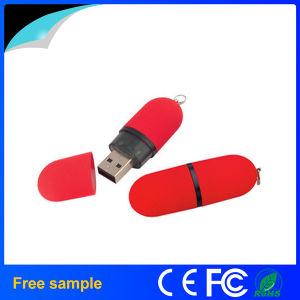 USB Flash Drive Promoción del lápiz labial Memory Stick plástico