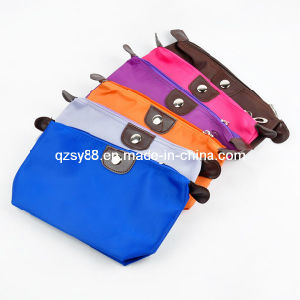Saco de mão cosmético do Zipper relativo à promoção da beleza