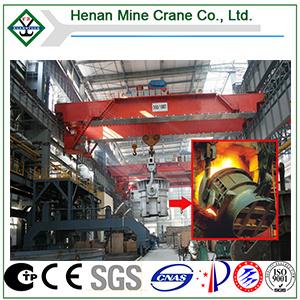 Metalurgia o Casting Overhead Crane para Steel Rolling Mill