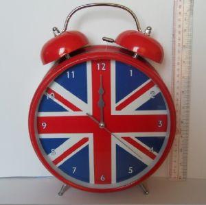 Horloge d'alarme jumelle de Bell