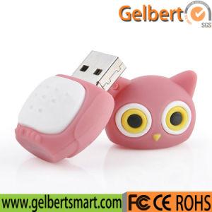 mecanismo impulsor del USB 2.0 del buho de noche 8GB para la promoción