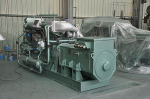 600kw Medium Speed Marine Diesel Generator (600GF)
