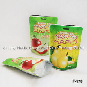 Plastic Fruit Packaging Bag를 위로 서 있으십시오