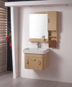 PVC Vanity Bathroom Cabinet Sanitaryware (W-162)の新しいDesgns