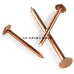 Clavos de golpe de cobre rojos del material para techos - Clavos de cobre ...