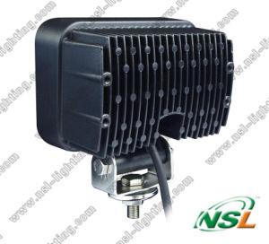 Machine de 50W LED Lampe Heavy Duty Truck 9-32V 12V LED CREE rectangulaire de travail / Lampe pour tracteur, voiture, quad, chariot élévateur, Mines