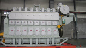 Двигатель топливозаправщика Avespeed Dn8340 2940kw-4500kw морской тепловозный