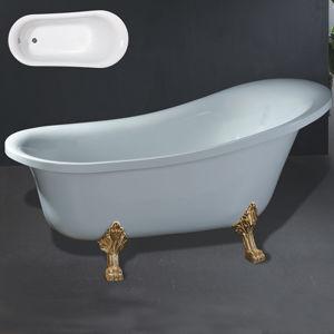 vasca da bagno classica acrilica indipendente ry 518