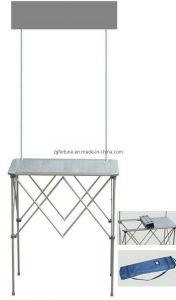 De alumínio estalar acima a mesa da promoção (FH-CXT-1)