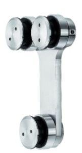 Encaixe da porta deslizante de aço inoxidável (FS-806)