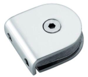 Conector de painel de vidro de chuveiro de aço inoxidável de 90 graus (FS-512)