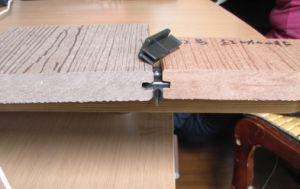 Decking de madeira plástico de WPC (SD11)