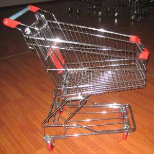 Caddie de supermarché avec le siège pliable de bébé (HY-80E)