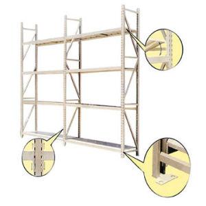 Étagère à usage moyen de défilement ligne par ligne de stockage d'entrepôt (HY-25)