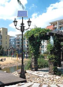 60w luces led solares para jard n iluminaci n 60w luces - Luces jardin solares ...