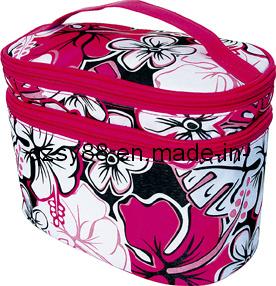 Saco cosmético das senhoras bonitas do poliéster (SY-H13002)