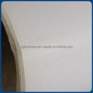 Fabricante Backlit lustroso/resíduo metálico laminado do PVC da impressão de Digitas do cabo flexível da bandeira